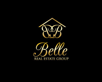 Belle Real Estate Group logo design