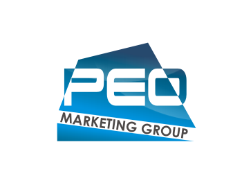 PEO Marketing Group logo design