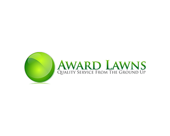 Award Lawns logo design