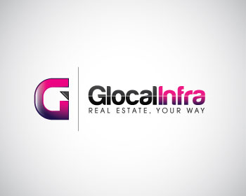 Glocal Infra logo design