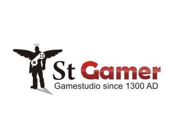 Saint Gamer logo design