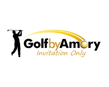 Golf by Amory logo design