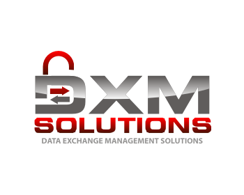 DXM Solutions logo design