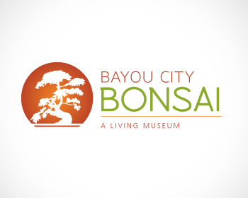 Bayou City Bonsai logo design