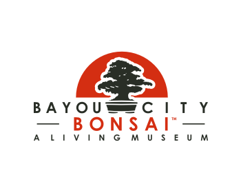 Logo design for Bayou City Bonsai