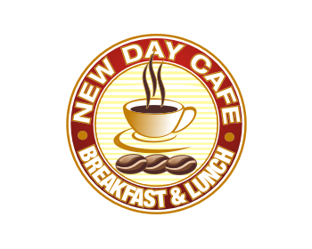 New Day Cafe logo design