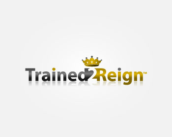 Trained 2 Reign logo design