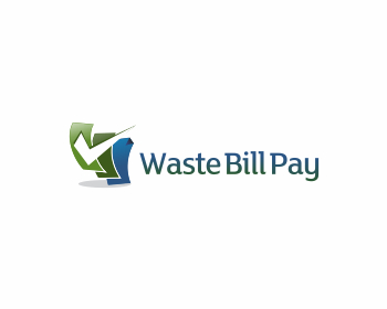 Waste Bill Pay logo design