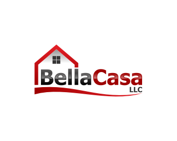 Bella Casa, LLC logo design