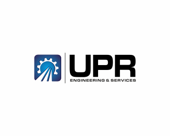 Logo design for UPR Engineering & Services