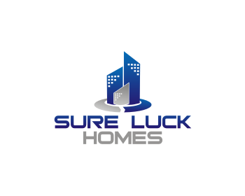 Sure Luck Homes logo design