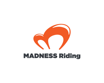 Madness Riding logo design