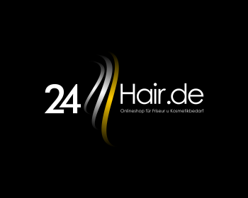 24Hair.de logo design
