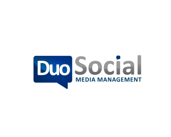 Duo Social Media logo design