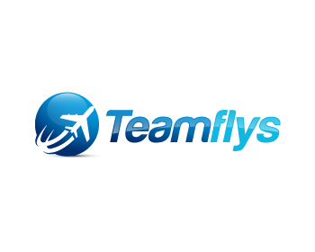 Teamflys logo design