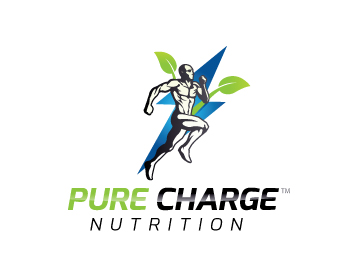 PURE CHARGE (TM) logo design
