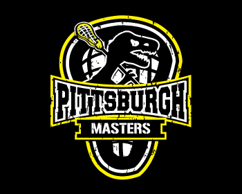 Pittsburgh Lacrosse Club Master's Team logo design