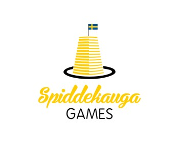 Spiddekauga Games logo design