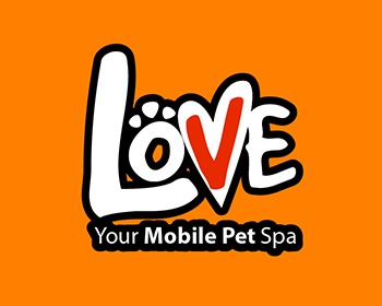 Love Your Mobile Pet Spa logo design