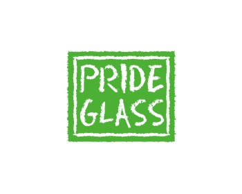 Pride Glass logo design
