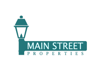 Main Street Properties logo design