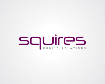 SQUIRES PUBLIC RELATIONS logo design