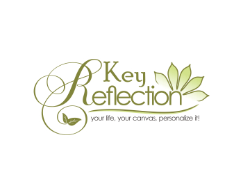 Key Reflection logo design