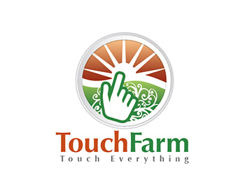 Touch Farm logo design