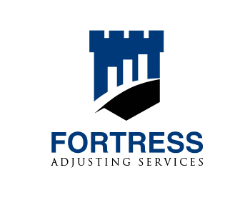 Fortress Adjusting Services logo design