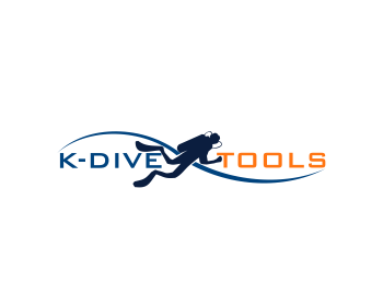 K-Dive Tools logo design