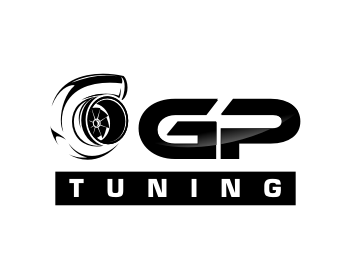 GP Tuning logo design