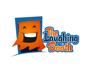 The Laughing Booth logo design