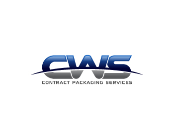 CWS Contract Packaging Services logo design