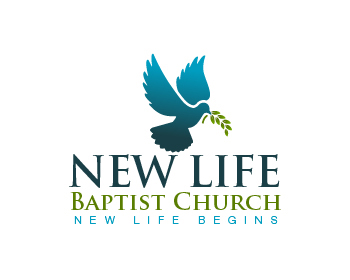 New Life Baptist Church logo design
