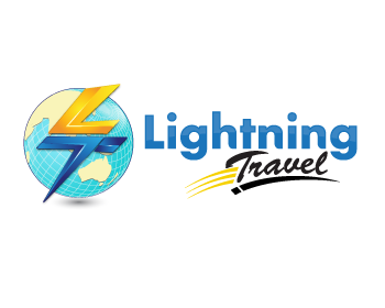 Lightning Travel logo design