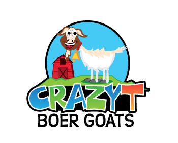 Logo design for CrazyT Boer Goats