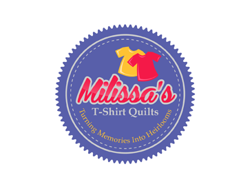Milissa's T-Shirt Quilts logo design