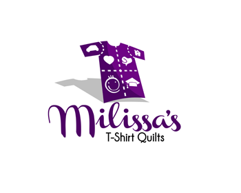 Logo design for Milissa's T-Shirt Quilts