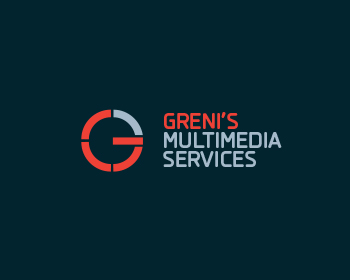 Greni's Multimediaservices logo design