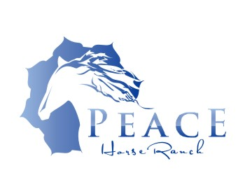 Peace Horse Ranch logo design