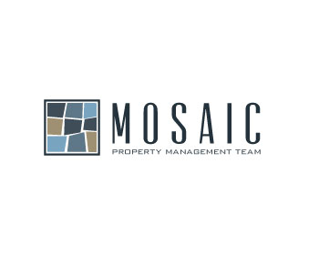 Mosaic Property Management Team logo design