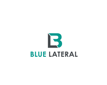 Blue Lateral logo design