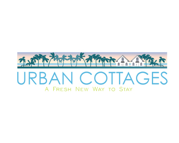 Urban Cottages logo design