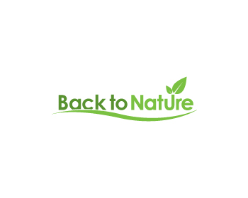 Logo design for Back to Nature