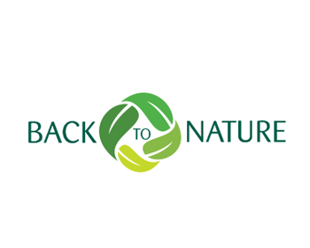 Back to Nature logo design