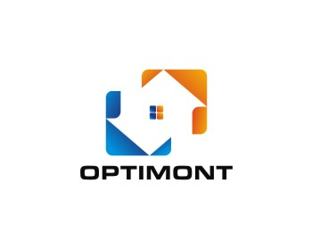 optimont logo design