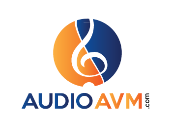 Audioavm.com logo design