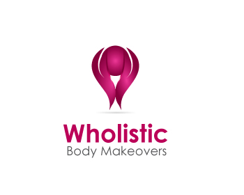 Wholistic Body Makeovers logo design