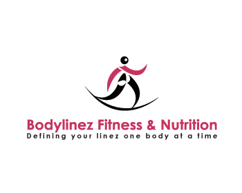 Bodylinez Fitness & Nutrition logo design