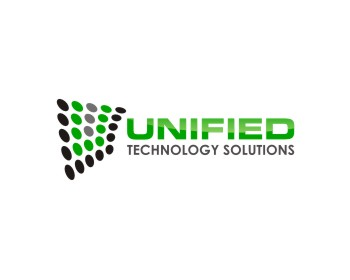 Unified Technology Solutions logo design
